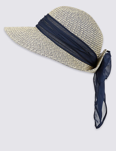 Marl Scarf Summer Hat