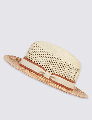 Zigzag Weave Summer Hat  c23c9f5b923