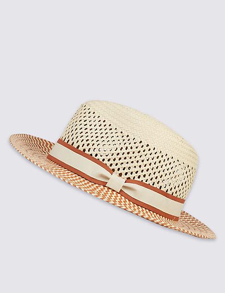 Zigzag Weave Summer Hat