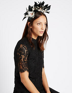 Flower Band Fascinator