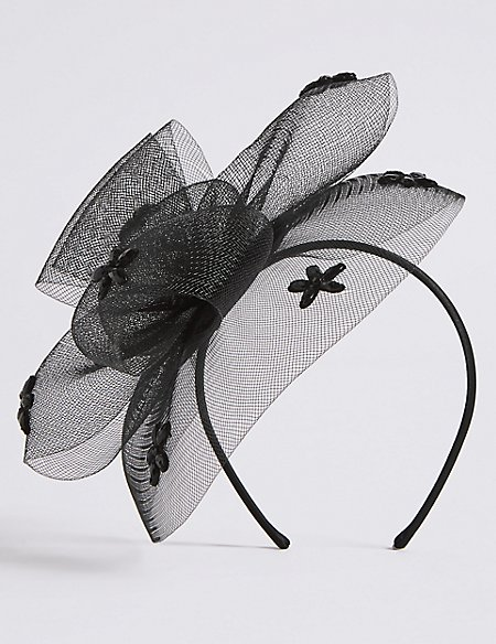 Flower Gem Fascinator