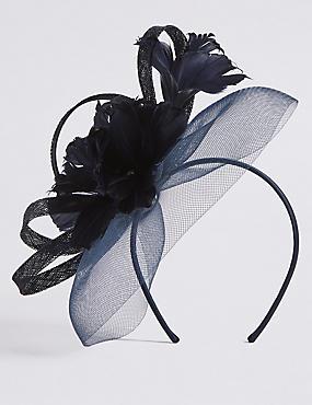 Diamanté Flower Fascinator