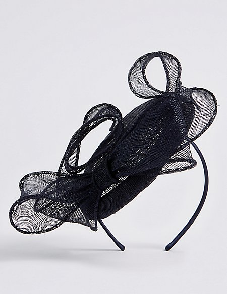 Pillbox Bow Fascinator