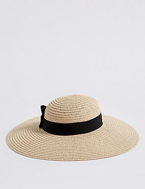Bow Floppy Hat
