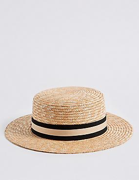 Boater Sun Hat