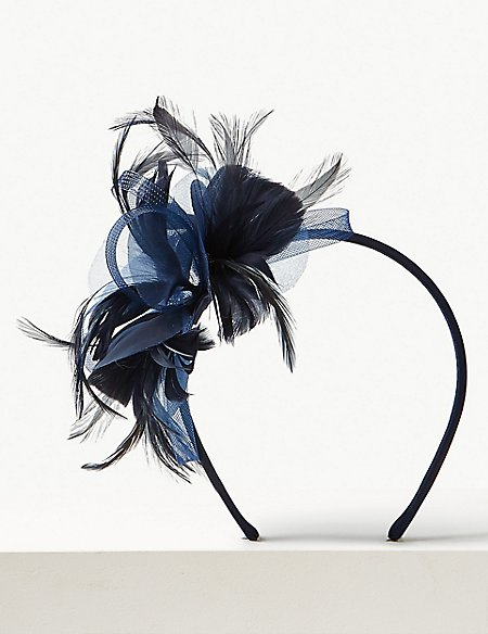Small Feather Fascinator