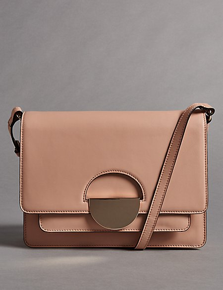 Leather Dolly Cross Body Bag