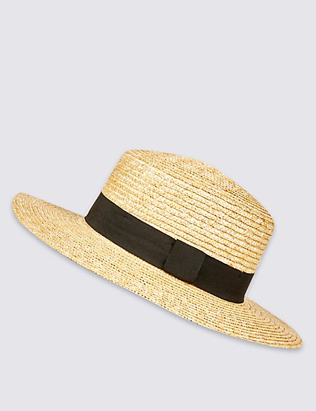 Boater Summer Hat