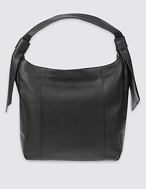 Leather Softy Hobo Bag