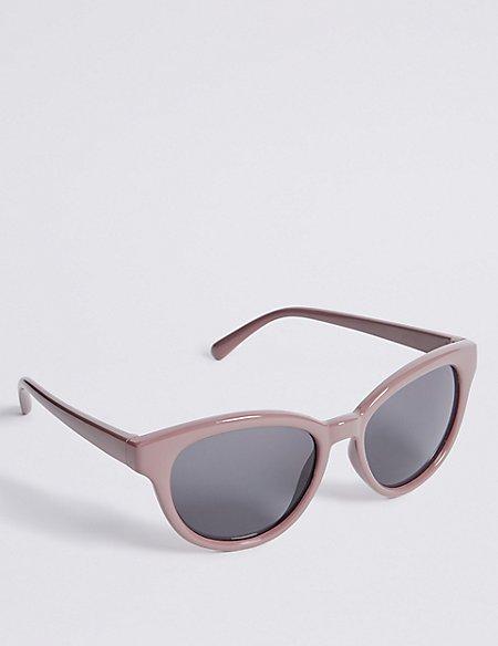 Preppy Cat Eye Sunglasses