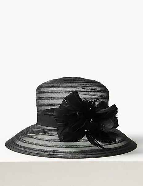 Feather Occasion Hat