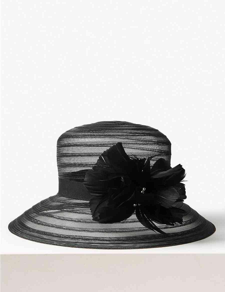 cbd80fa1636ae Feather Occasion Hat