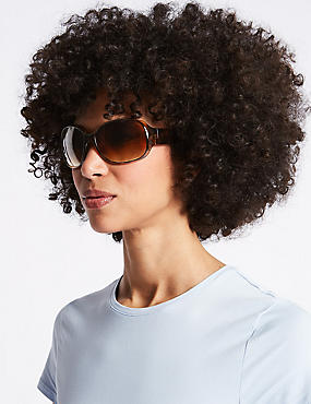 Wrap Around Square Sunglasses