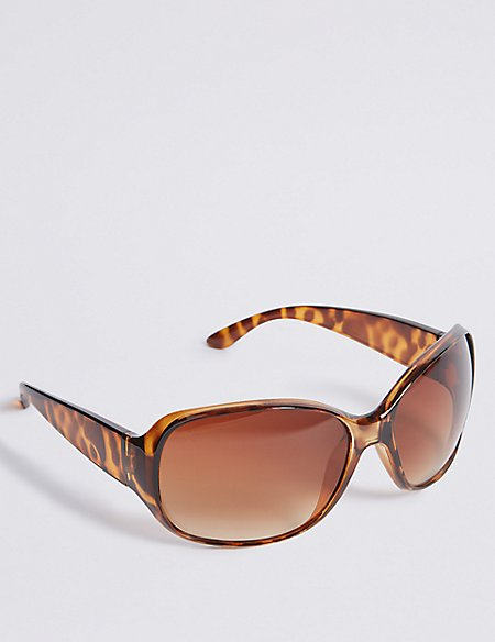 Wrap Around Square Sunglasses
