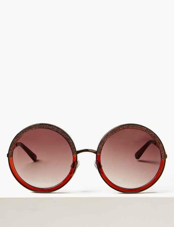 8c6cfb84baa Bandera Bling Round Sunglasses