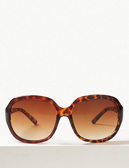 Laguna Wrap Around Oval Sunglasses