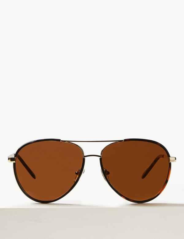 09e517fc2e37 Aviator Sunglasses. M S Collection