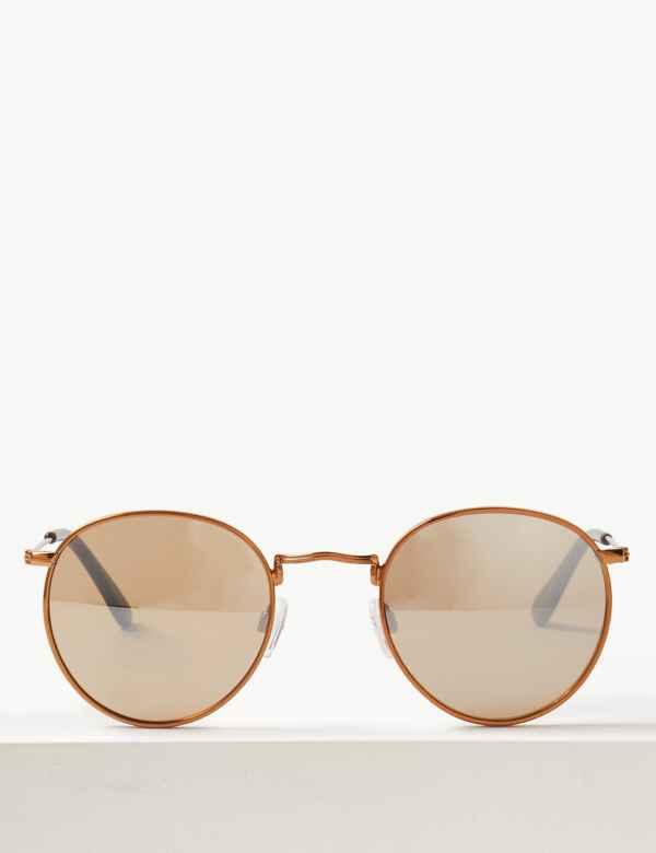 e279f1c179 Round Metal Sunglasses