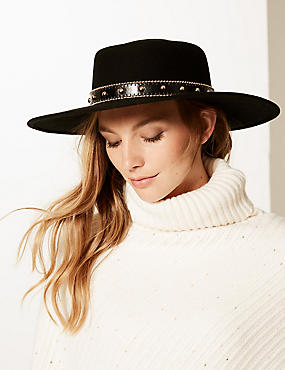 Pure Wool Fedora Hats