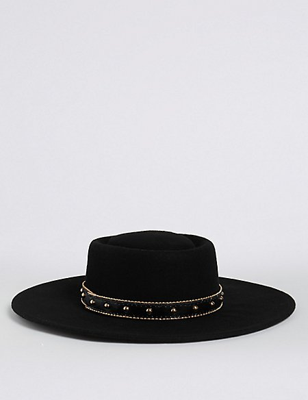 Pure Wool Fedora Hats