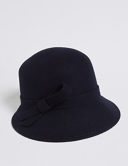 Pure Wool Bucket Hat