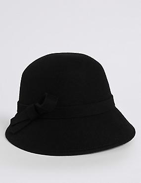 Pure Wool Bucket Hat