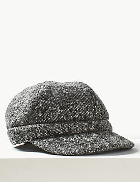 Textured Baker Boy Hat