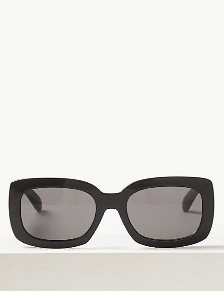 Slim Rectangle Sunglasses