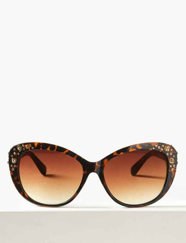 cb83cd9cae Bling Cat Eye Sunglasses