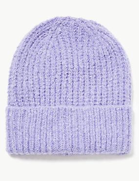 Spongy Beanie Hat