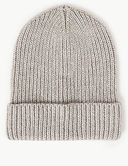 Cotton Rich Beanie Hat