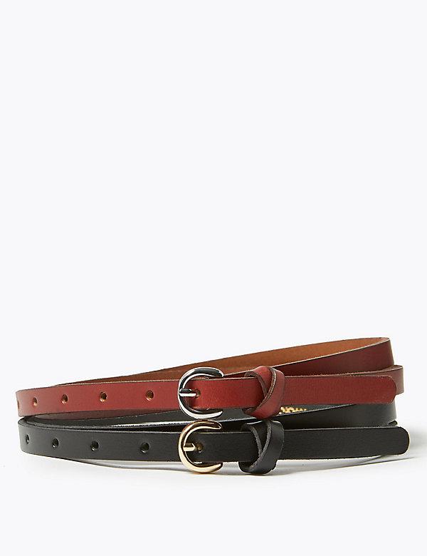 2 Pack Leather Hip Belt