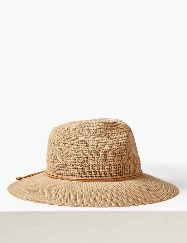 fa1db4a630a Soft Fedora Hat. M&S Collection