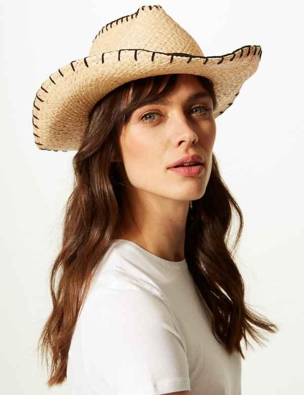 c0444bdf11ca2 Cowboy Sun Hat. M S Collection