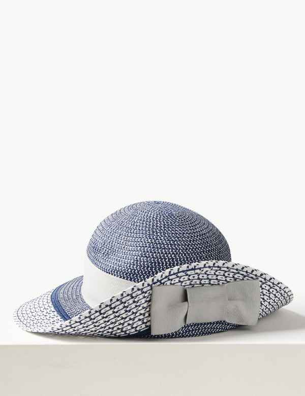 bd1bbd297c8e8 Contrast up Brim Sun Hat