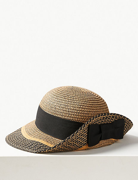 Contrast up Brim Sun Hat
