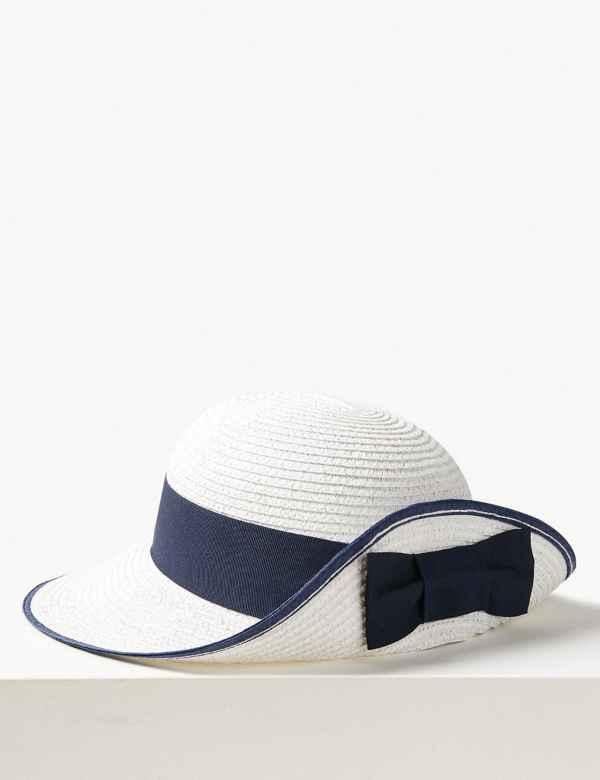 c8831e3d2e837 Metallic up Brim Sun Hat