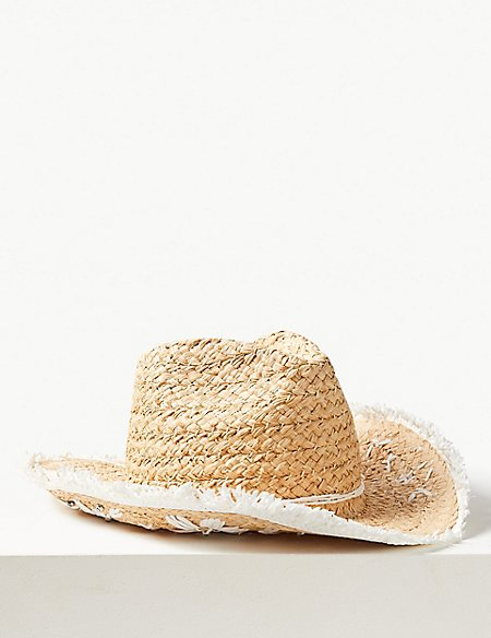 Embellished Cowboy Sun Hat