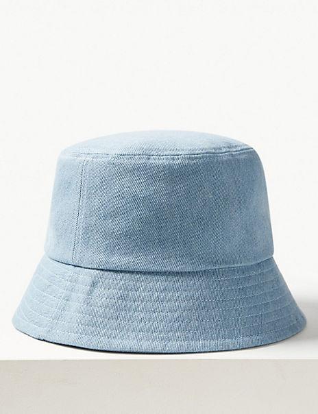 Pure Cotton Modern Bucket Sun Hat