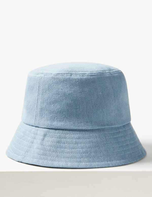 780a1f75c39309 Pure Cotton Modern Bucket Sun Hat