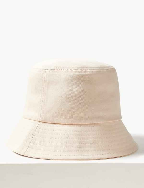 3fb3cf25b62 Pure Cotton Modern Bucket Sun Hat