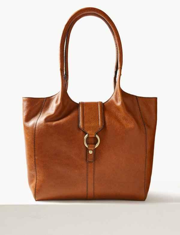 618f8165b798 Leather Tote Bag