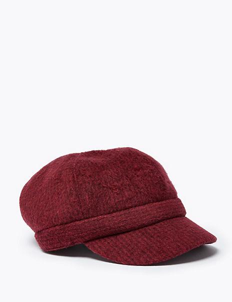 Dogtooth Baker Boy Hat