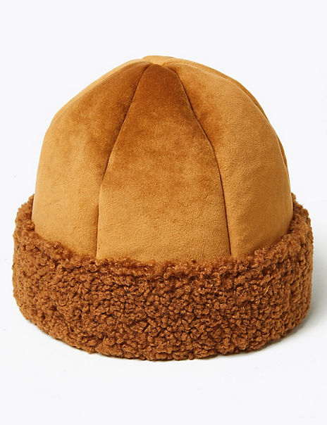 Shearling Cossack Hat