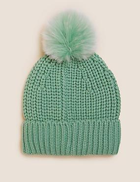 قبعة بوم تريكو