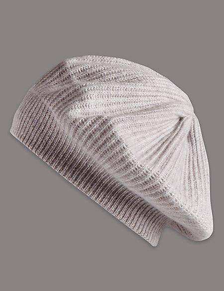 Pure Cashmere Beret Hat