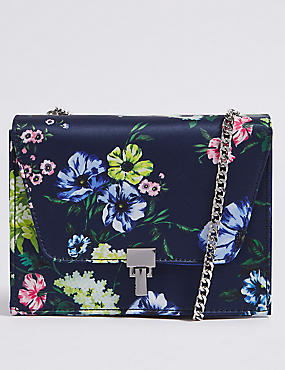 Printed Cross Body Bag