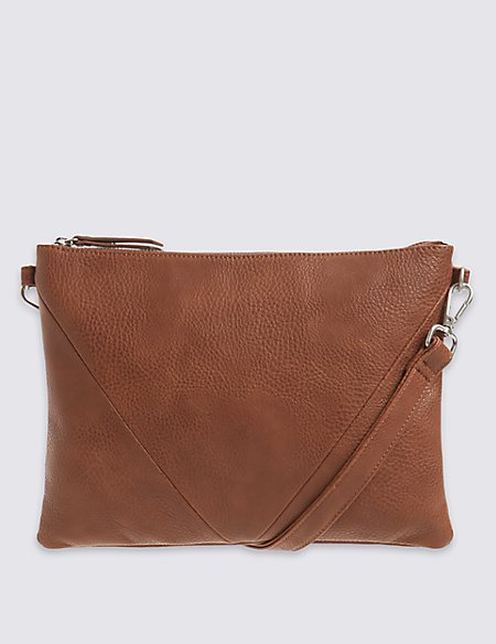 Panelled Across Body Bag