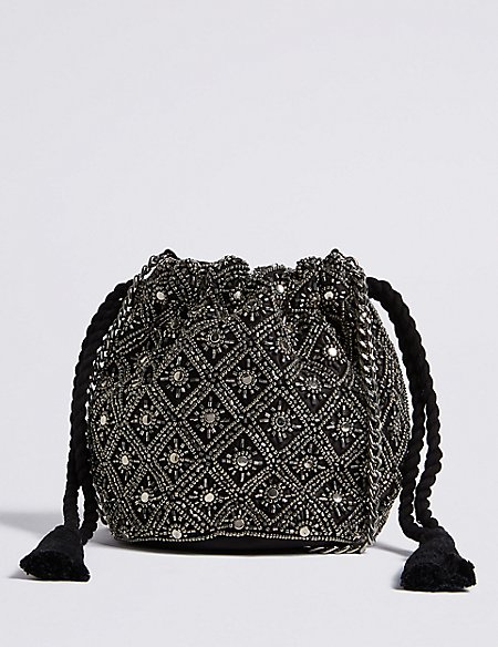 Embellished Cross Body Bag