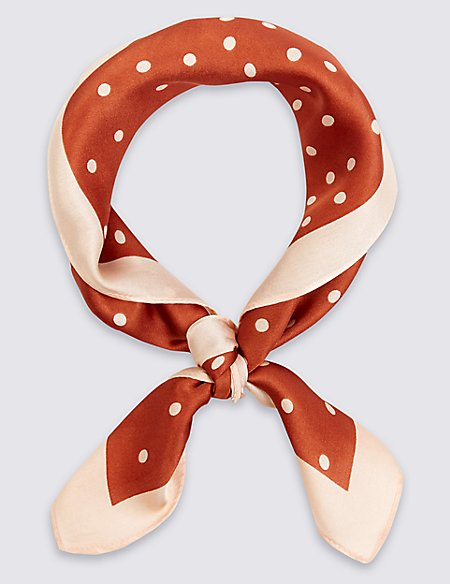 Small Spotted Scarf